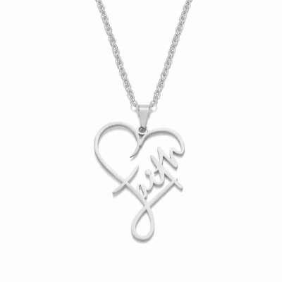 Faith heart necklace Profile Picture